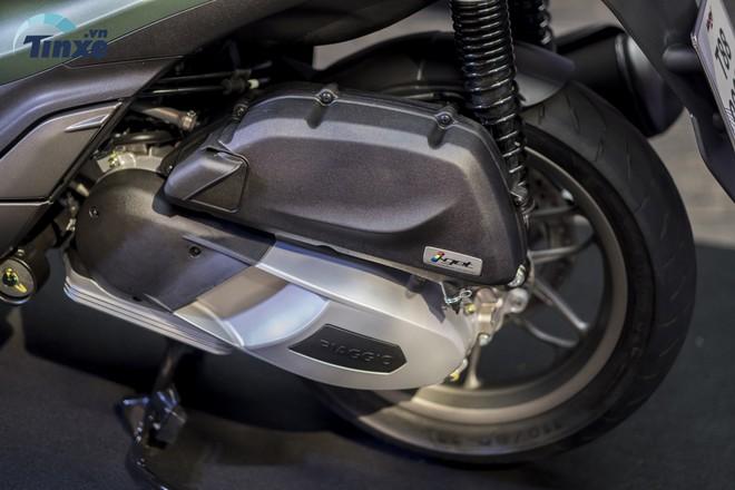 Trang bị Động cơ i-Get trên Piaggio Medley 2018