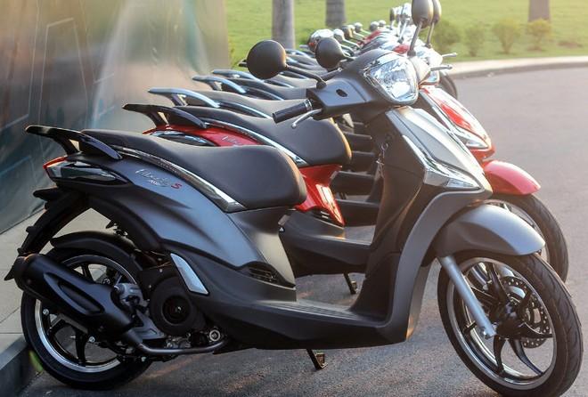Piaggio Liberty 125 tại Việt Nam