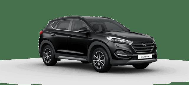 Mẫu Hyundai Tucson màu đen