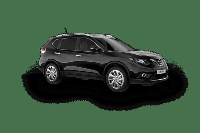 Mẫu Nissan X-Trail màu đen