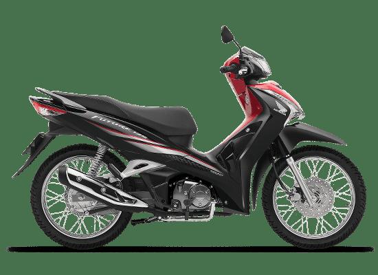 Mẫu Honda Future vành nan hoa màu đen đỏ