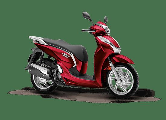 Mẫu Honda SH 300i màu đỏ đen