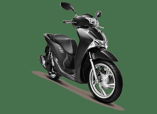 Mẫu Honda SH màu đen