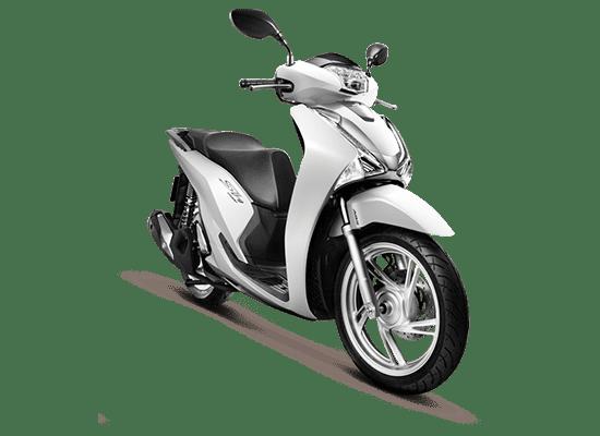Mẫu Honda SH màu trắng