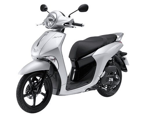 Mẫu Yamaha Janus màu bạc