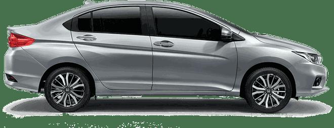 Mẫu Honda City màu ghi bạc