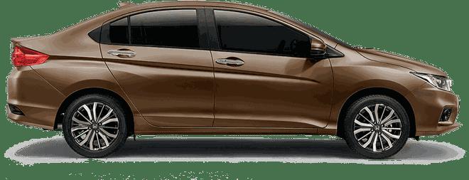 Mẫu Honda City màu titan