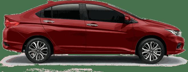 Mẫu Honda City màu đỏ