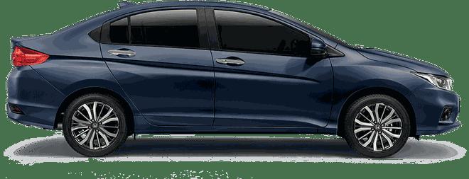 Mẫu Honda City màu xanh đậm