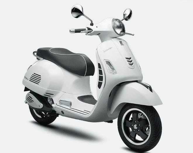 Mẫu Vespa GTS 300 màu trắng