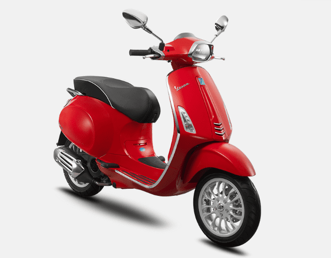 Mẫu Vespa Sprint 125 ABS màu Red Dragon