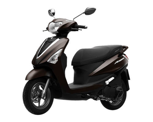 Mẫu Yamaha Acruzo màu nâu