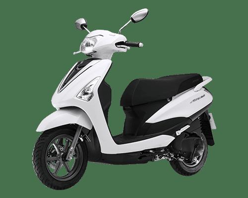 Mẫu Yamaha Acruzo màu trắng đen