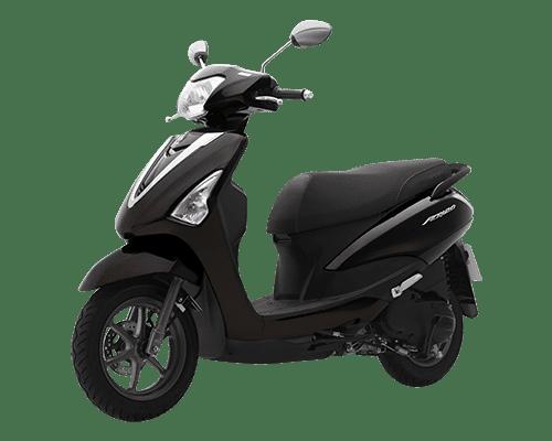 Mẫu Yamaha Acruzo màu nâu đen