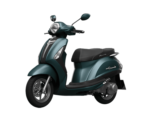 Mẫu Yamaha Grande màu xanh lục