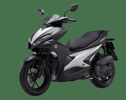 Mẫu Yamaha NXV màu trắng đen