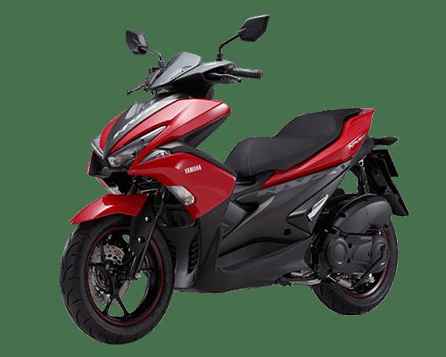 Mẫu Yamaha NXV màu đỏ đen