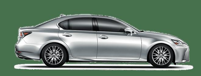 Mẫu Lexus GS màu bạc