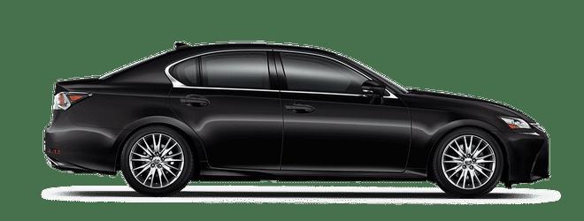 Mẫu Lexus GS màu đen