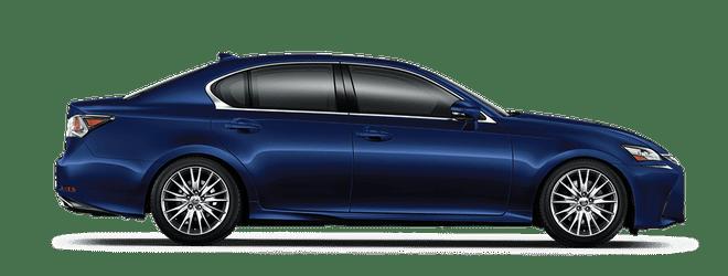 Mẫu Lexus GS màu xanh