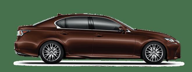 Mẫu Lexus GS màu nâu