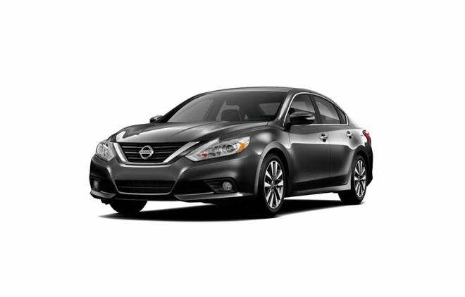 Mẫu Nissan Teana màu xám