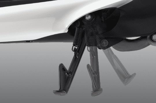 Trang bị tiện ích Chân chống của Honda SH mode