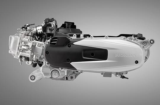 Trang bị động cơ của Honda SH