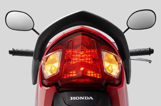 Thiết kế Cụm đèn hậu của Honda Wave Alpha 110