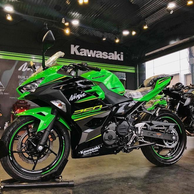 Động cơ Kawasaki Ninja 250 2018