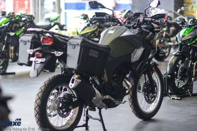 Thùng đựng đồ của Kawasaki Versys-X 300 2018