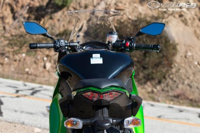 Đuôi xe Kawasaki Z1000SX