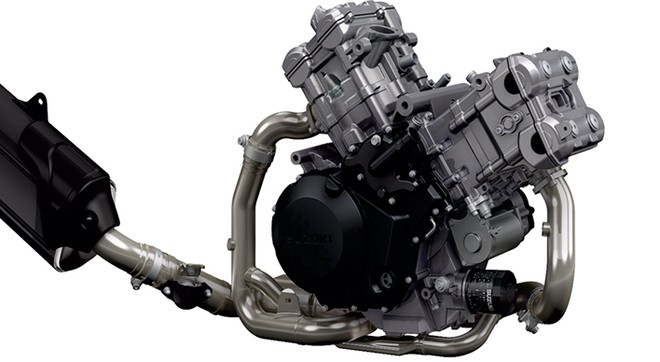 Động cơ Suzuki V-Strom 1000 ABS