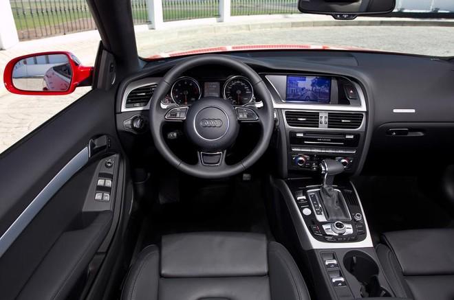 Thiết kế nội thất của xe Audi A5