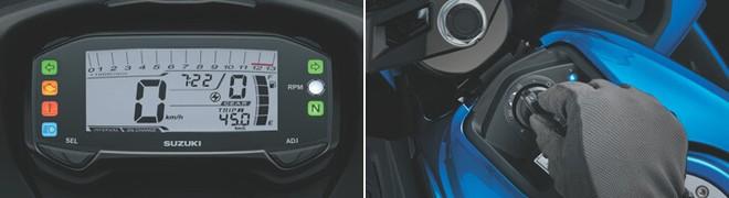 Suzuki GSX-R150 được trang bị ổ khóa thông minh Smart Key