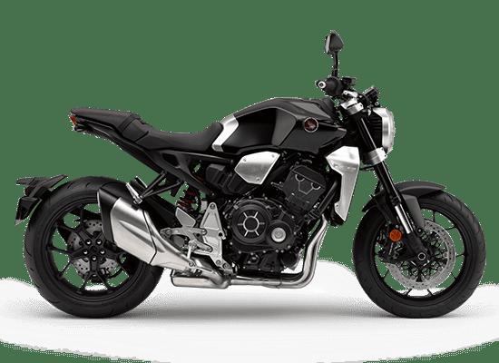 Ngoại thất của Honda CB1000R màu đen bạc