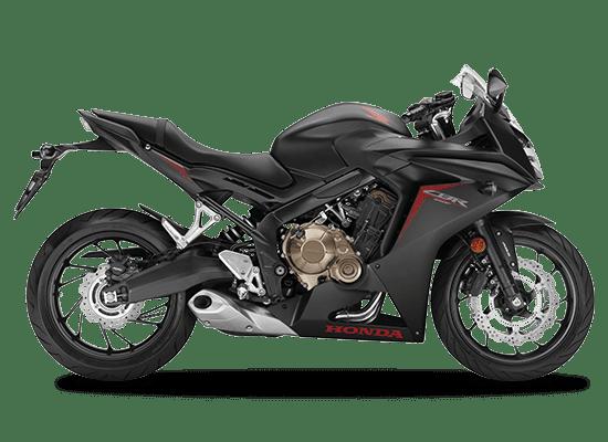 Mẫu Honda CBR650F màu đen mờ
