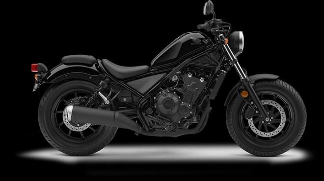 Mẫu Honda Rebel 500 màu đen