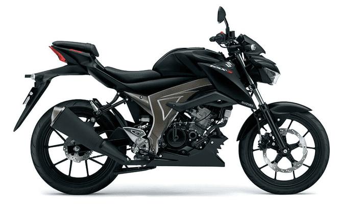 Mẫu Suzuki GSX-S150 màu đen