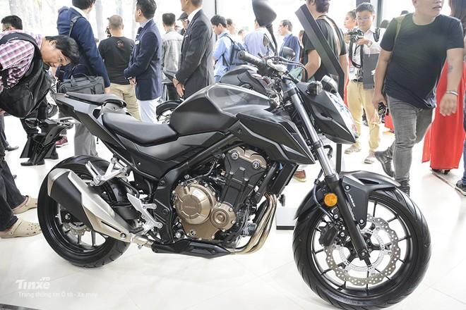 Mẫu Honda CB500F tại Việt Nam