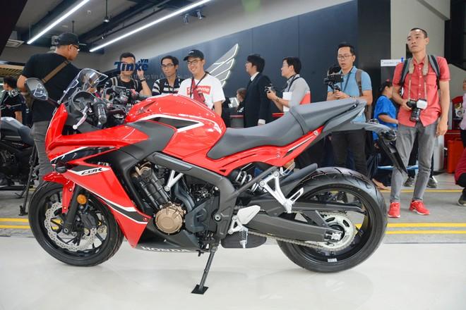 Trang bị an toàn của Honda CBR650F