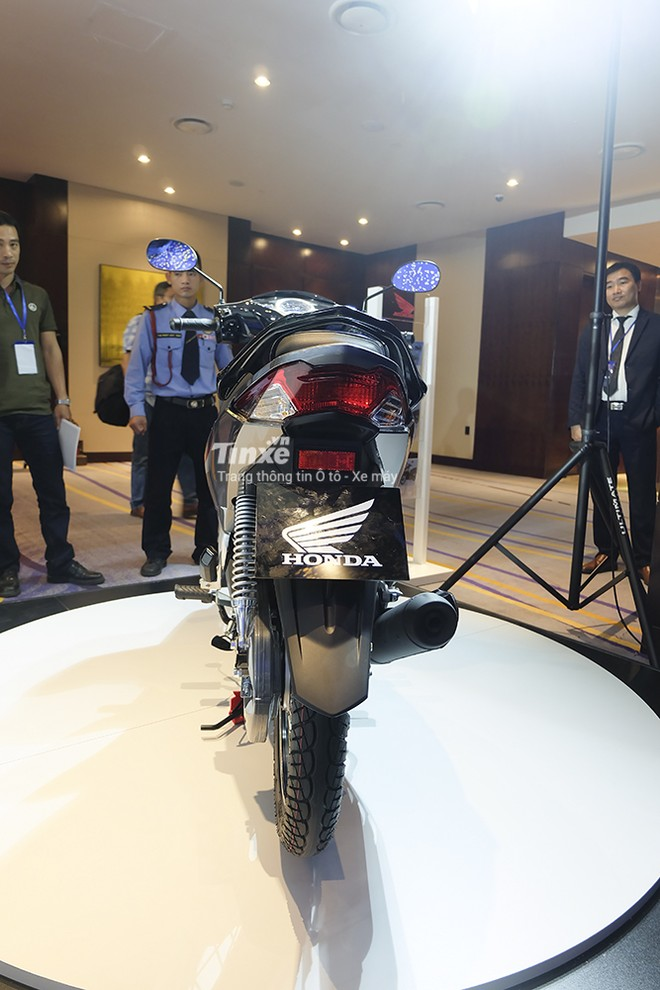 Thiết kế đuôi xe Honda Future