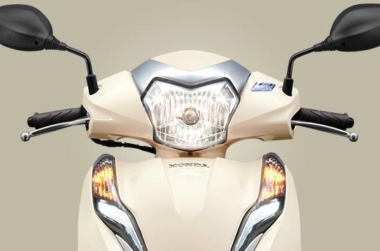 Thiết kế phần đầu xe Honda Lead