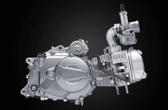 Trang bị động cơ của Honda Blade 110