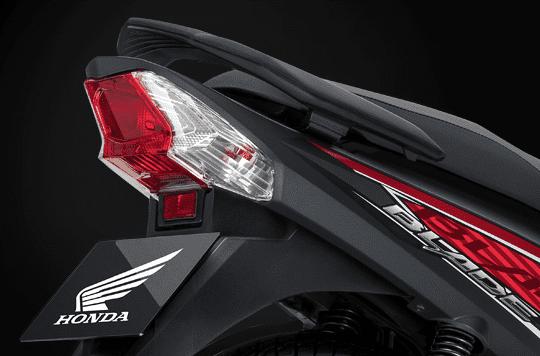 Thiết kế đèn hậu của Honda Blade 110