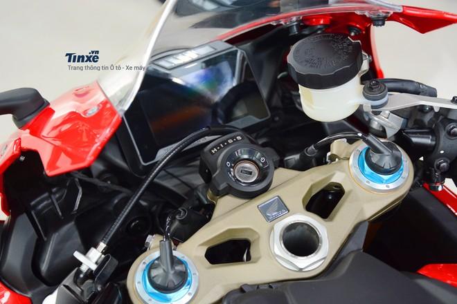 Thiết kế Bảng đồng hồ Honda CBR1000RR SP 2018