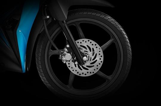 Trang bị bánh xe Honda Wave RSX
