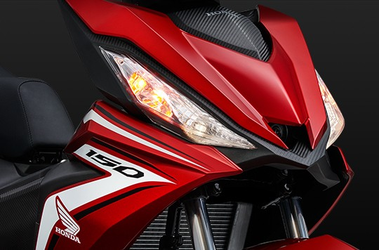 Thiết kế đèn pha của Honda Winner 150