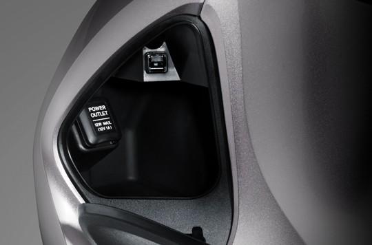 Trang bị hộc để đồ của Honda SH