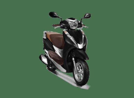 Mẫu Honda Lead màu đen nâu bạc